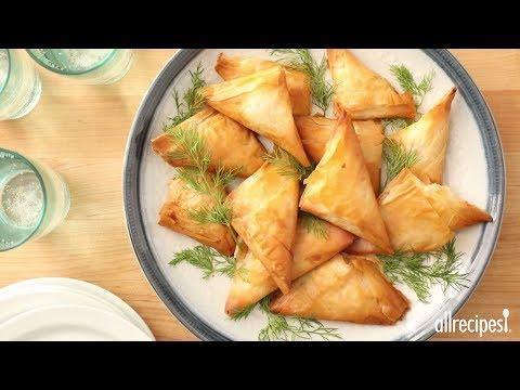 How to Make Phyllo Turnovers with Shrimp | Shrimp Recipes | Allrecipes.com