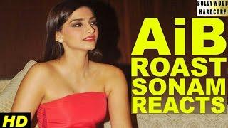 AIB KNOCKOUT CONTROVERSY  Sonam Kapoor Reacts On Roast Video Of Ranveer Singh & Arjun Kapoor