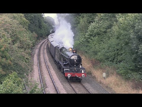 5043 'Earl of Mount Edgcumbe' & Pannier Tank 9600 with 'The …