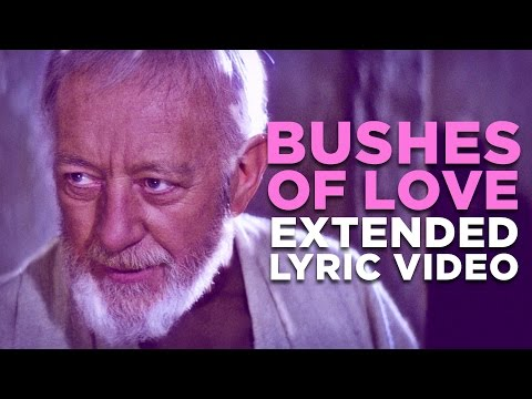 """BUSHES OF LOVE"" -- Extended Lyric Video - Bad Lip Reading"