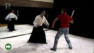 SIDE ATTACK WITH BASEBALL BAT: Self defence lesson 6.3