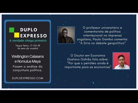 Assista A Duplo Expresso 17abr2018 No Youtube