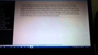 Anthracyclines - doxorubicin, daunorubicin, idarubicin, Lang Pharm Cards