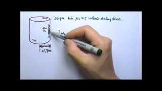 AP Physics 1: Forces 26: Circular Motion 8: The Rotor Ride