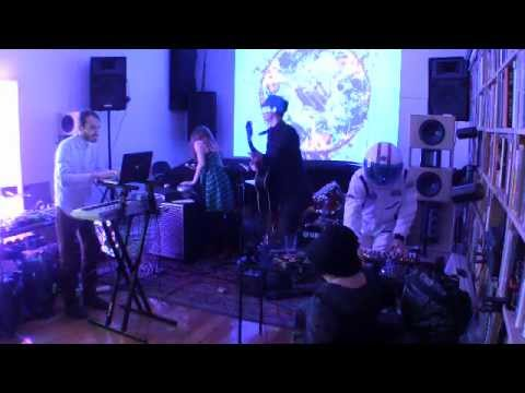 PAS Musique live at Spectrum 12-13-2012 with Jim Tuite (visuals), Gia Lisa Krahne (movement)