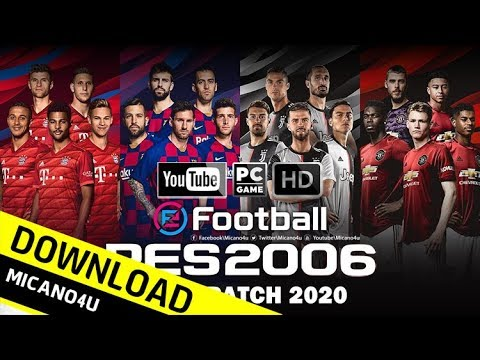 PES 6 | eFootball PES 2020 Edition Patch 125 MB Download & Install