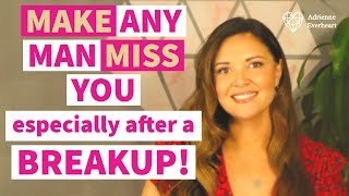 5 Tips to Make Him Miss YOU After Breakup | Reconnection Expert Adrienne Everheart