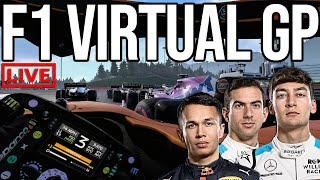 Driving For McLaren In The F1 Virtual Grand Prix