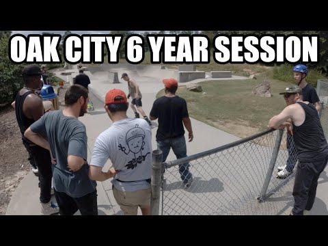 Oak City Skate Shop 6 Year Session // Aggressive Inline Skating