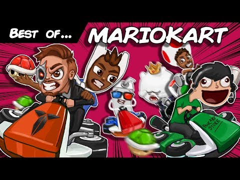The Best Of Mario Kart 8 Deluxe Funny Moments Compilation!