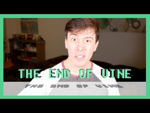 The End of Vine   Thomas Sanders