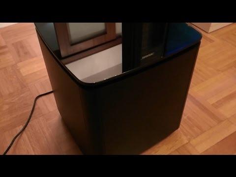 Bose Acoustimass 300 wireless bass (subwoofer) module sound test
