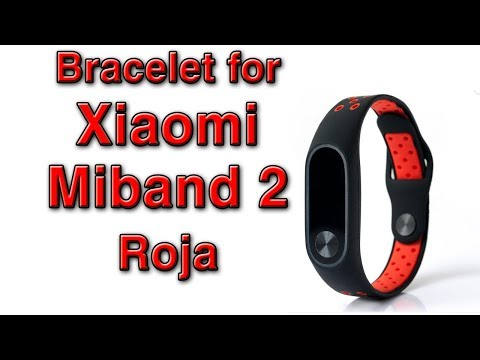 Bracelet for Xiaomi Miband 2 ROJO / Drill Set from Banggood