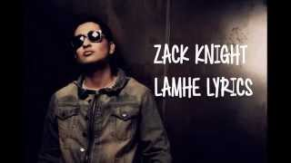 Gambar cover Lamhe Zack Knight with English Translations