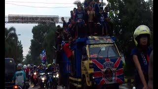 Konvoi Aremania Juara Bhayangkara Cup