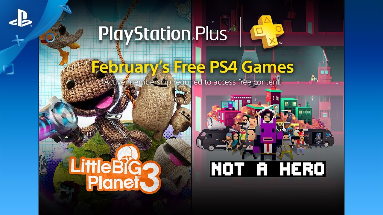 PS Plus: Free Games for February 2017