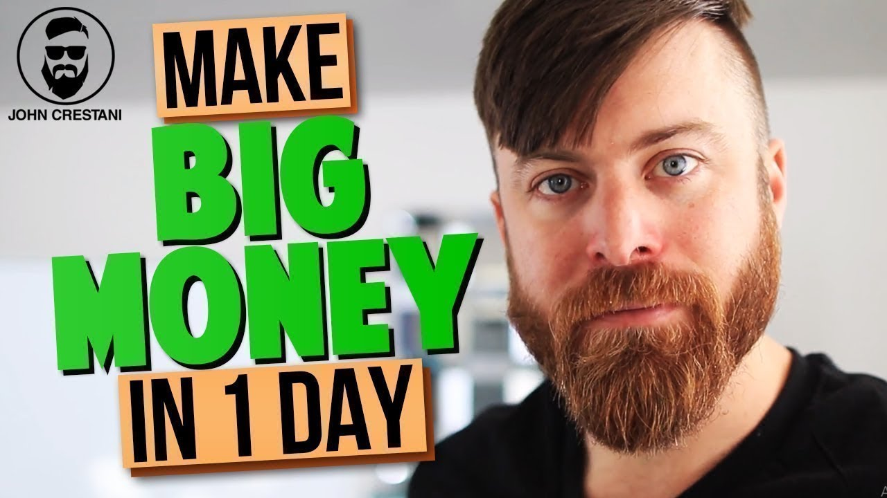 How To Make Quick Cash In One Day Online thumbnail