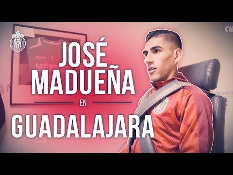 El primer día de José Madueña en Chivas | Detrás de la presentación
