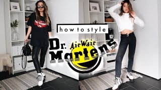 How To Style: Dr. Marten Boots | Easy Outfit Ideas!