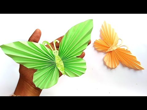 How to make a beautiful paper butterfly