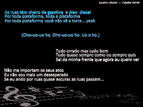 Capital Inicial - Musica Urbana (Letra)