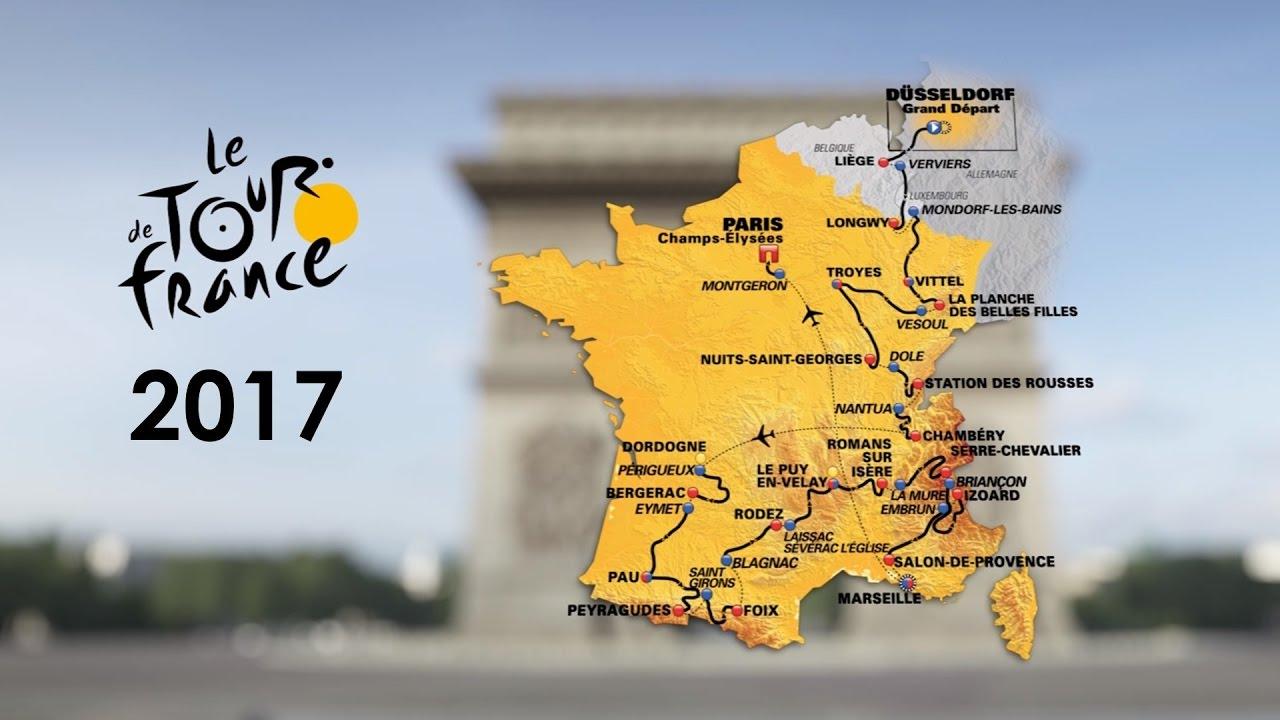Il Tour 2017 in 3D