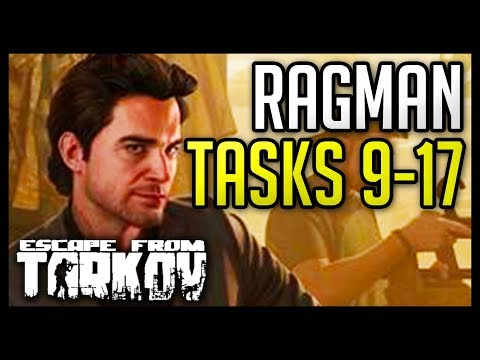 Ragman Tasks (9-17) Guide - Escape from Tarkov - Free video search