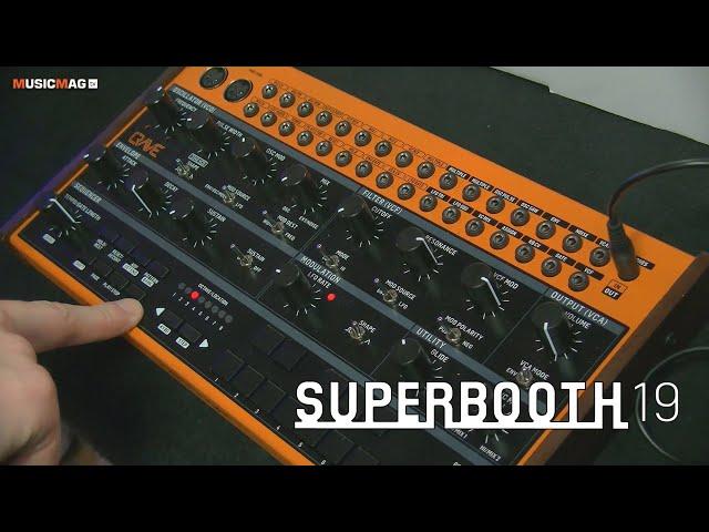 Behringer Crave - полумодульный синтезатор (Superbooth19)