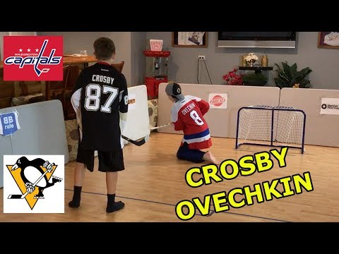 Kids HocKey - Knee Hockey NHL Playoffs Alexander Ovechkin vs Sidney Crosby Winner takes on CBANKS
