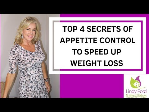 TOP 4 SECRETS OF APPETITE CONTROL TO SPEED WEIGHT LOSS