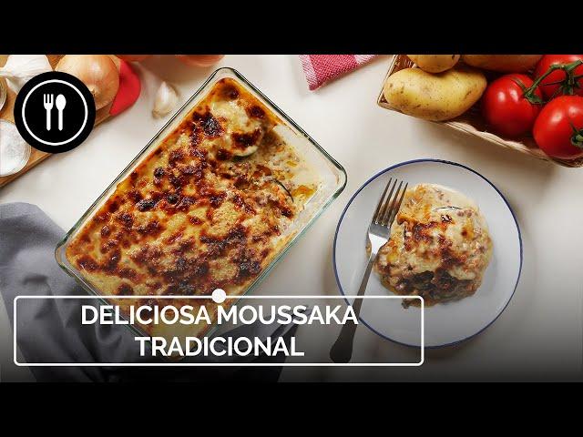 MUSAKA: Cómo hacer este delicioso plato griego tradicional