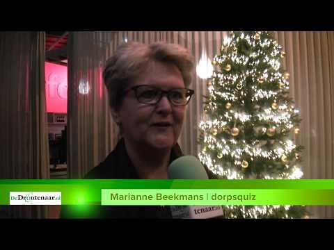 VIDEO | Marianne Beekmans streeft bij eerste dorpsquiz in Dronten naar 400 deelnemers