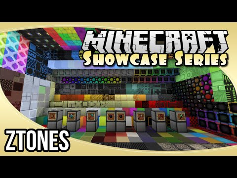 Ztones (Decorative Blocks Mod Spotlight) | The Minecraft Showcase Series
