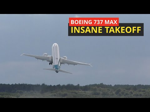 Butt Clenching Vertical Takeoff in a Boeing 737