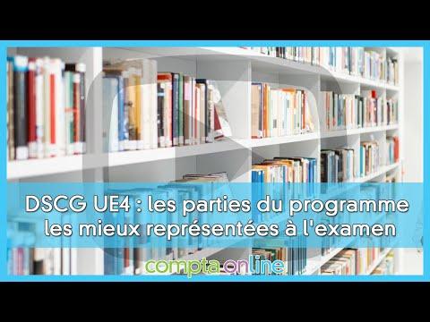 Les sujets de DSCG UE4 Comptabilité et audit