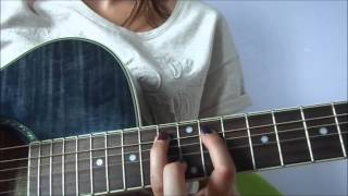 How to play Coup et Blessures by BB Brunes on the guitar ? easy, facile