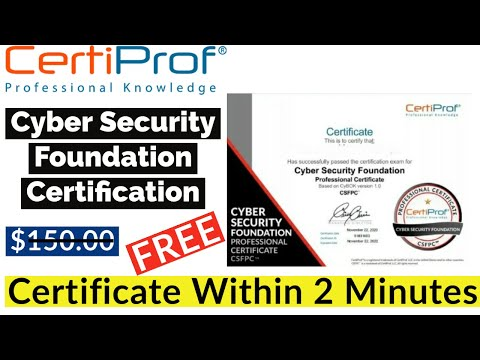 Cyber Security Free Online Courses With Certificate ... - YouTube