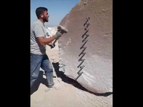 Kaya nasıl kırılır?