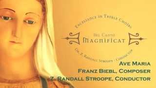 Ave Maria - Franz Biebl - Z. Randall Stroope, Conductor