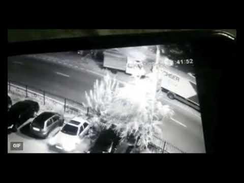 BMW X5 разнес автосервис, при этом погиб шиномонтажник
