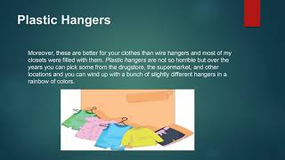 Buying Quality Clothes hangers and making a good decision