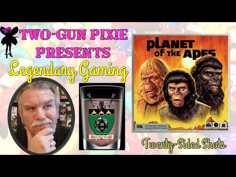 Twenty-Sided Shots 032 - Planet of the Apes by IDW Games