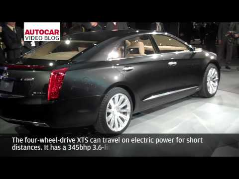 Detroit Motor Show: Cadillac XTS Platinum Concept by autocar.co.uk