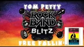 Tom Petty - Free Fallin' - Rock Band Blitz Playthrough (5 Stars)