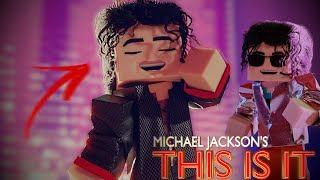 Michael Jackson Human Nature (This Is It) - Minecraft Animation