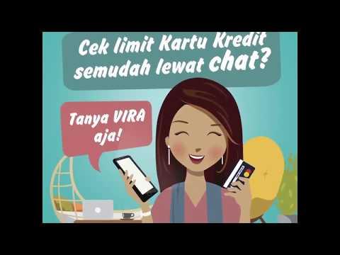 Cek limit kartu kredit lewat VIRA