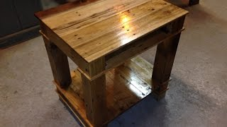 Reclaimed Wood Furniture/ Pallet Furniture/Wood Working Projects