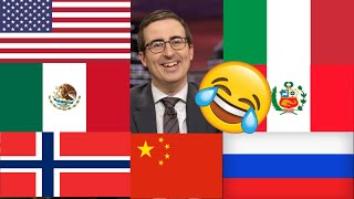 John Oliver Describes Countries Compilation (Funny)