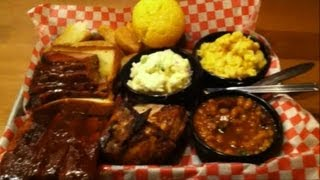 Famous Dave's BBQ Feast For One Review