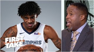 Damon Jones is more excited to see Ja Morant than Zion Williamson as a rookie | First Take